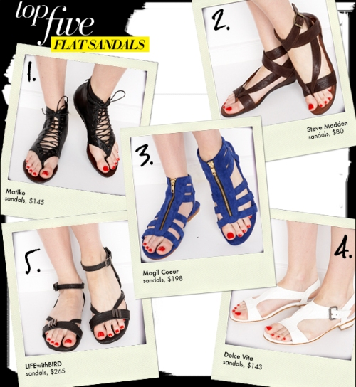 top-five-flat-sandals