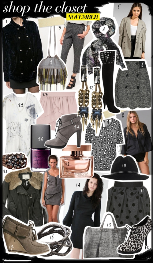 Shop The Closet: November